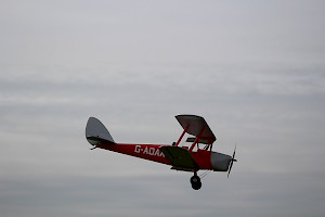 Mick prior's Tiger Moth, Electric powered