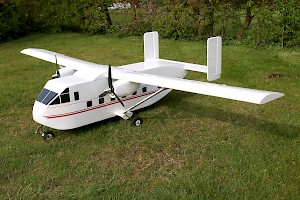 "Mick Prior's New 66"" Skyvan"