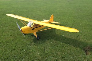 Ron's Cub, an excellent long distance flyer