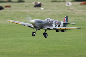 Dale Malpas Electric powered Spitfire
